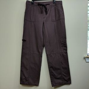 Sundance Carpenter Pants Brown Tie Belt Cotton 14
